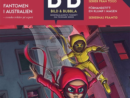 Magazine Bild & Bubbla #222: Swedish Influence on the Frew Comic