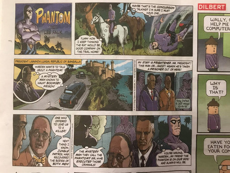 Edited Newspaper Stories in Today's Comic Books