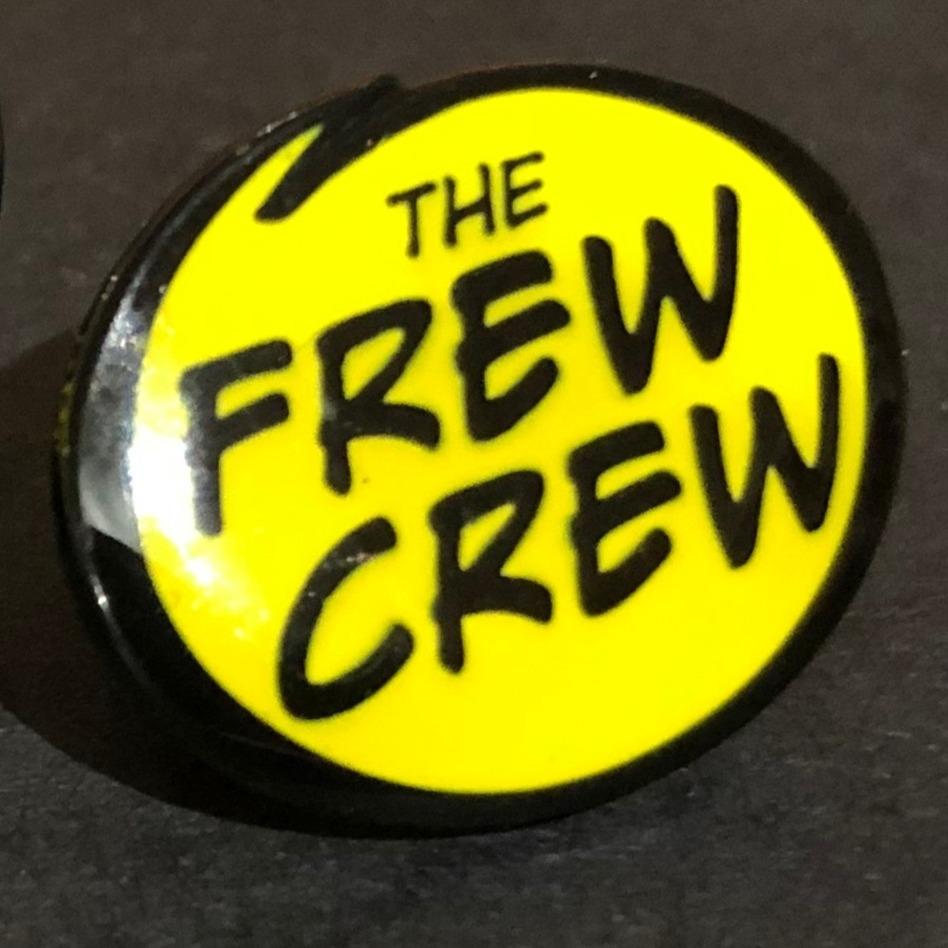 single Frew Crew badge