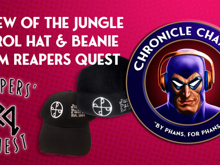 Review of the Jungle Patrol Hat & Beanie from Reapers Quest