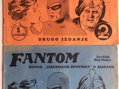 The First Phantom Comic - More Facts Emerge and we have a NEW FIRST Phantom Comic