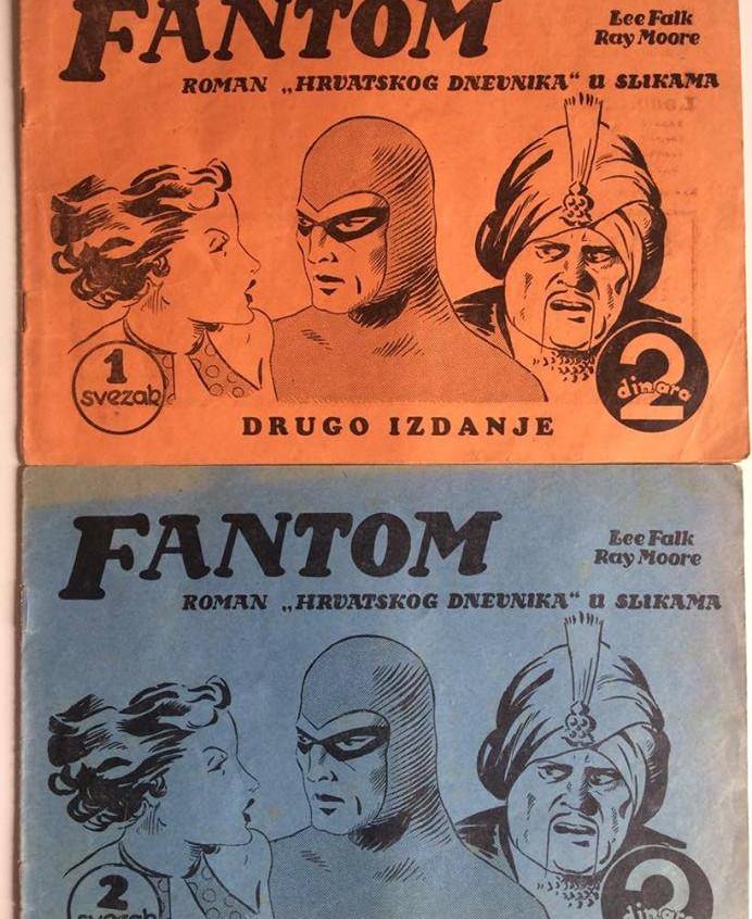 first phantom comics