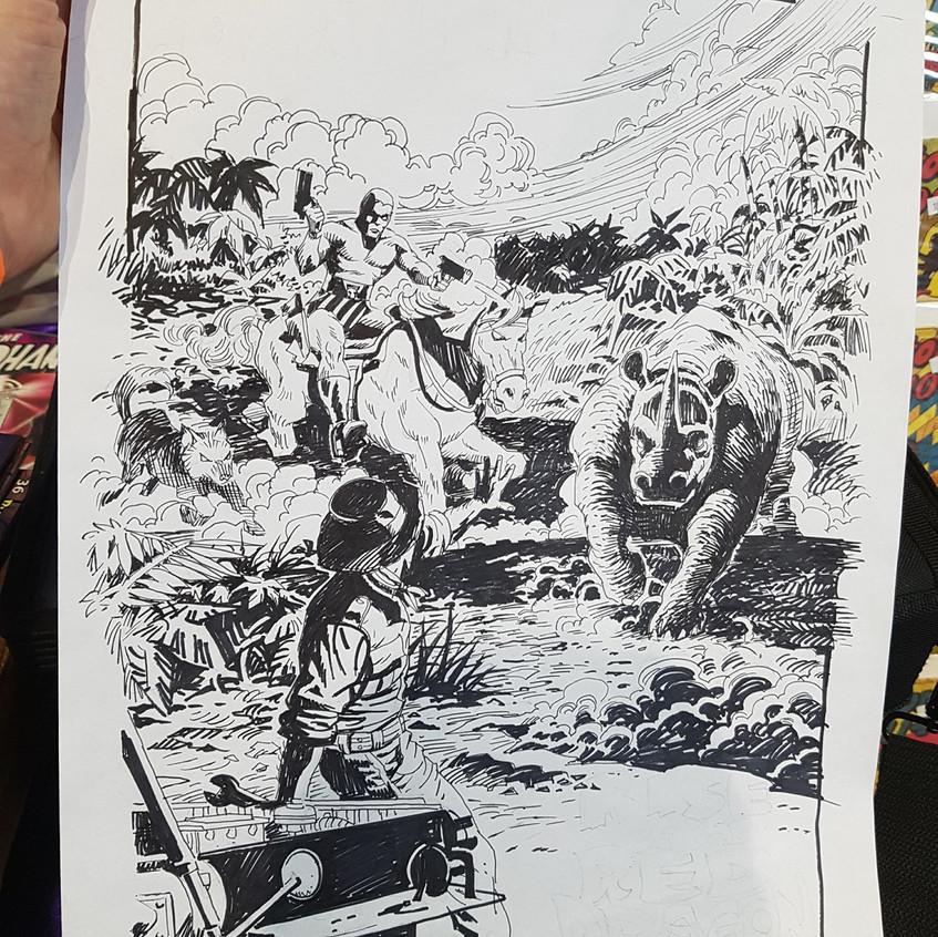 First Splash page art