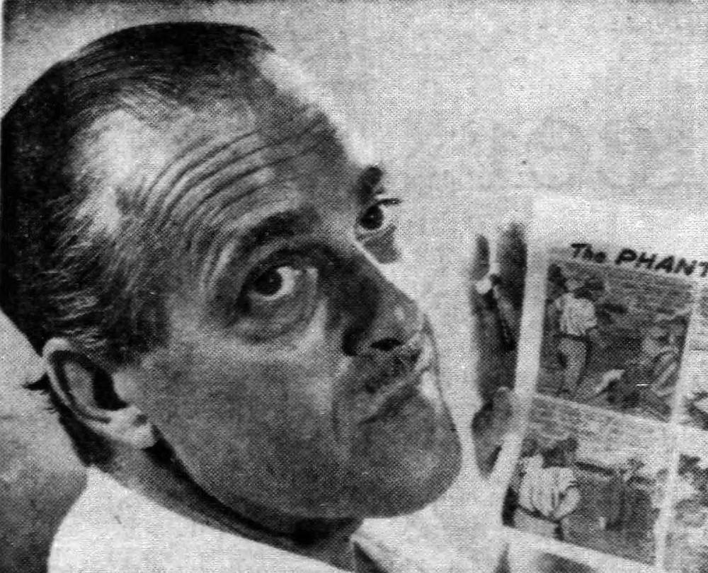 Lee Falk in 1960
