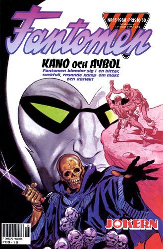 Kano & Aybol - Fantomen 15/1988