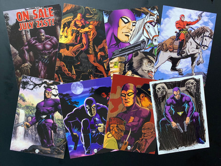 The Phantom Gallery: Series 2 trading cards - Review