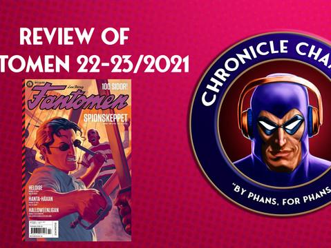 Review of Fantomen 2021/22-23