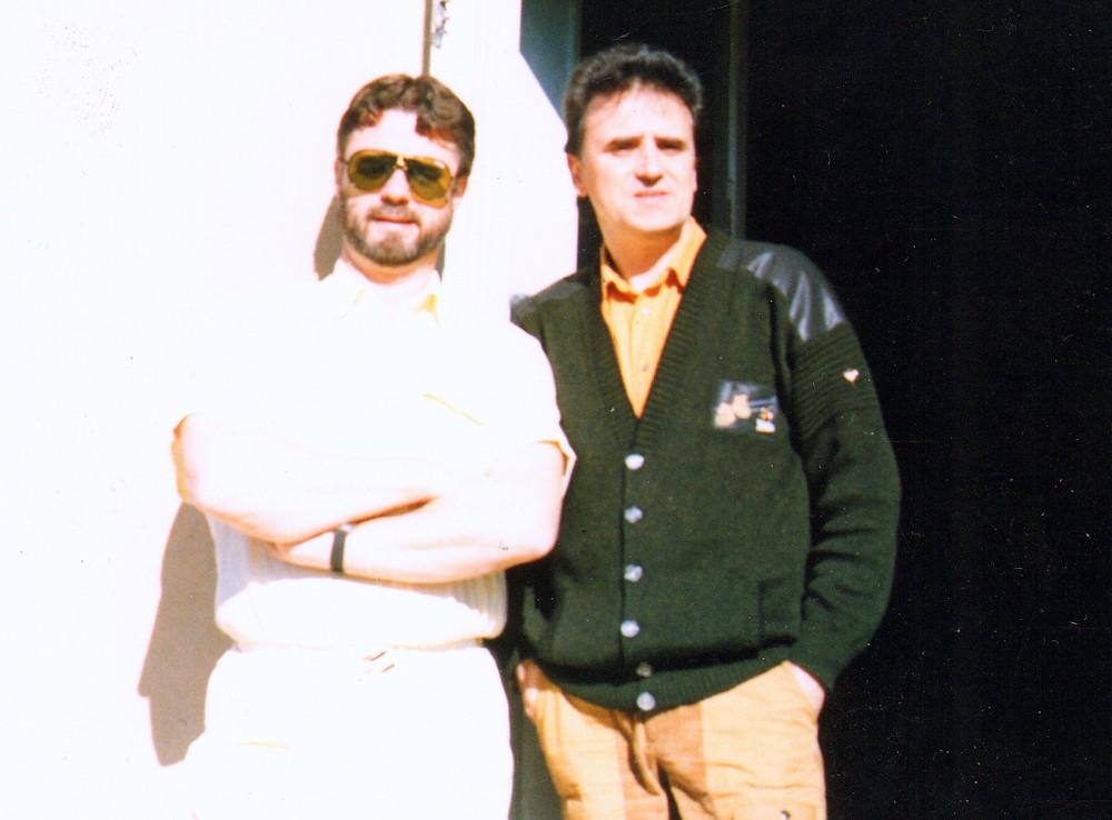 Ulf Granberg (left) and Felmang