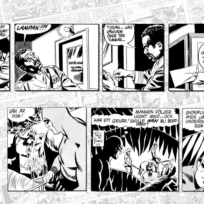 Sy Barry Panels
