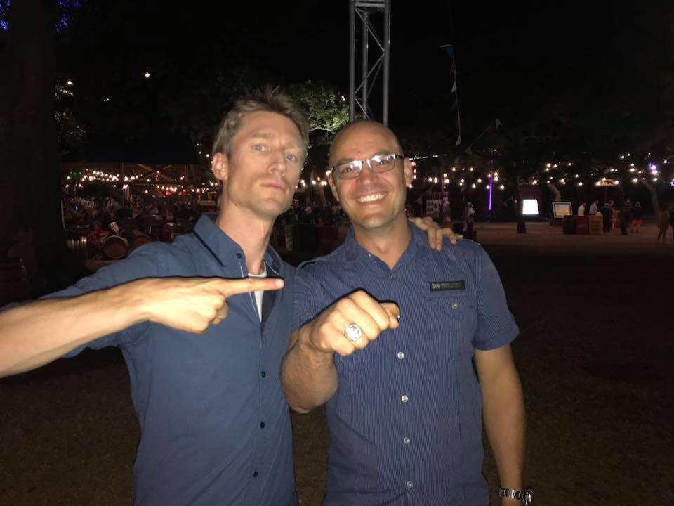 with Luke Verri