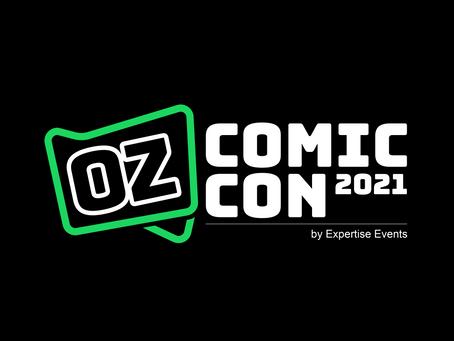 July 2021: Melbourne Comic Con (Postponed)