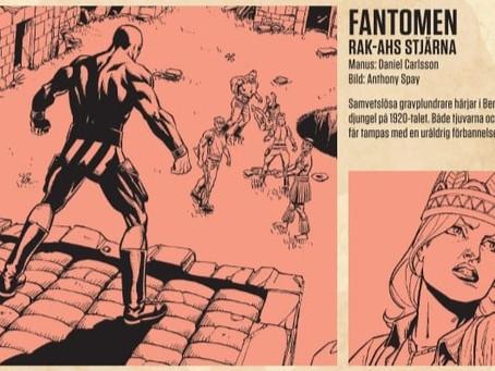 Introducing Daniel Carlsson, new Fantomen writer