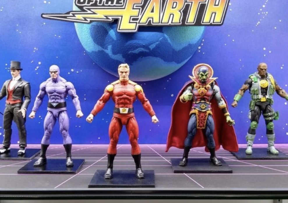 N.E.C.A Toys Defenders of the Earth