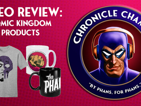 "We Review ""Comics Kingdom"" Products: Mugs, SDCC Pin & Shirt"