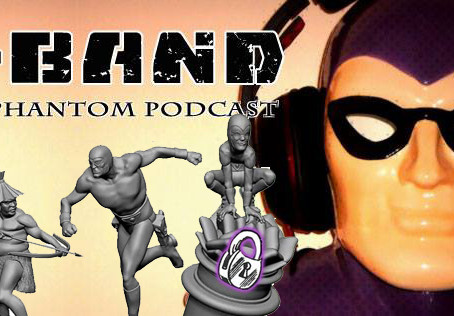 "X-Band: The Phantom Podcast #115 - Update on ""The Phantom: Treasures of Drakon"" Kickstarte"