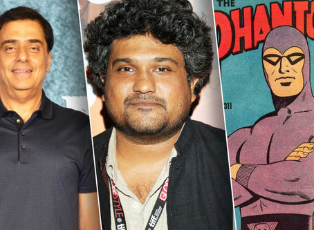 The Men Behind the Proposed New Indian Phantom Movie