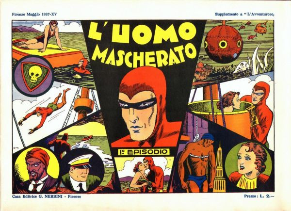 Collana Albi Grandi Avventure #1: L'Uomo Mascherato - published May 1937