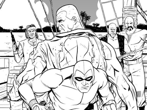 The Phantom & Doc Savage Crossover That Almost Happened