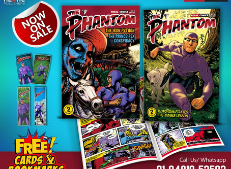 Regal Publishers: The Phantom Issues #3 & #4 Review