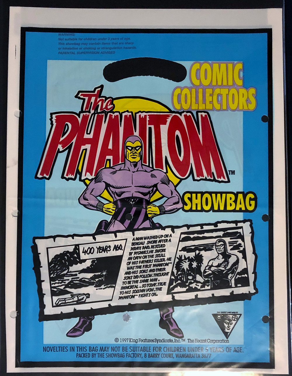 The Phantom Showbag