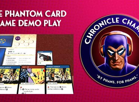 The Phantom: The Card Game Demo Play