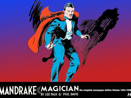 Hermes Press Releasing Mandrake the Magician Reprint HC Collection