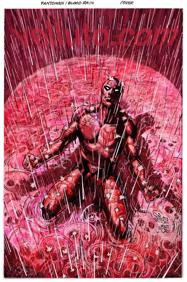 Colour (Virgin) of Blood Rain Cover