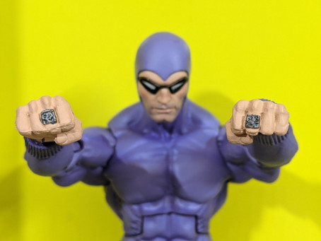 """NECA Defenders of The Earth: The Phantom 7"""" Action Figure Review"""