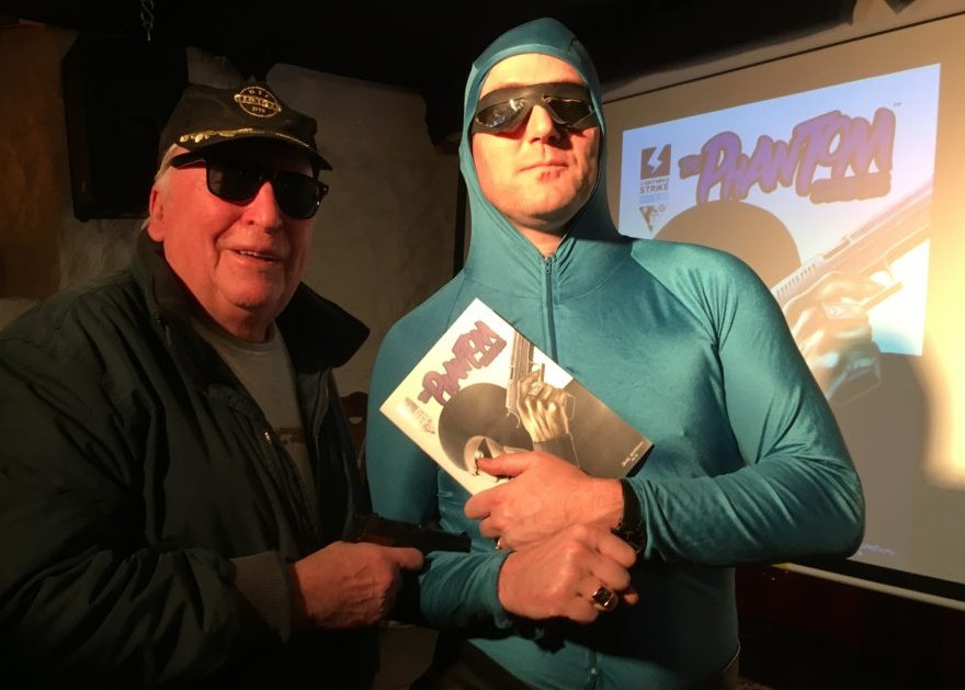 Kjell Steen & Øystein Nordvik as The Phantom