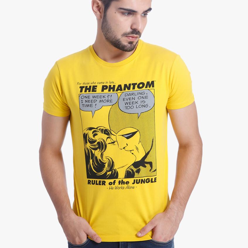 Yellow Phantom & Diana T Shirt