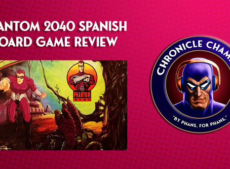 Phantom 2040 Spanish Board Game Review