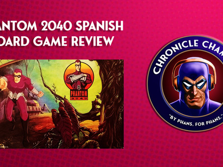 Phantom 2040 Spanish Board Game Review