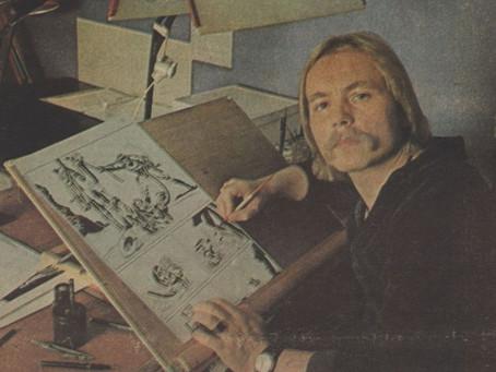 The Phantom of Hamburg - Fantomen Veteran Artist Heiner Bade