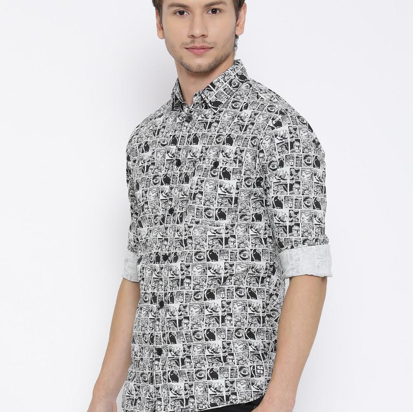 Phantom Strips Smart Casual Shirt
