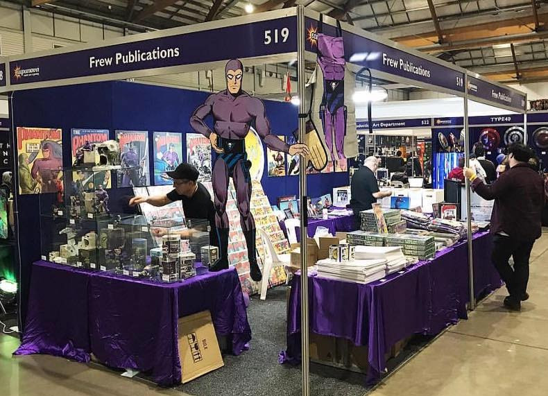 2017 Frew booth