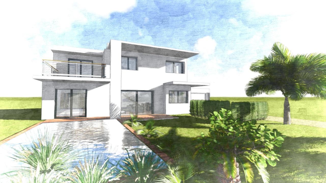 projet de villa contemporaine