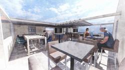 terrasse amovible bureaux étudiants