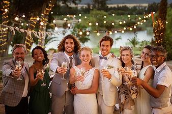 Photos de famille de mariage