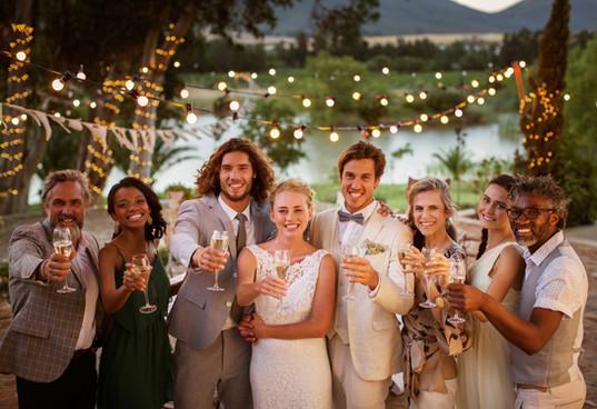 Fotos de la boda de la familia
