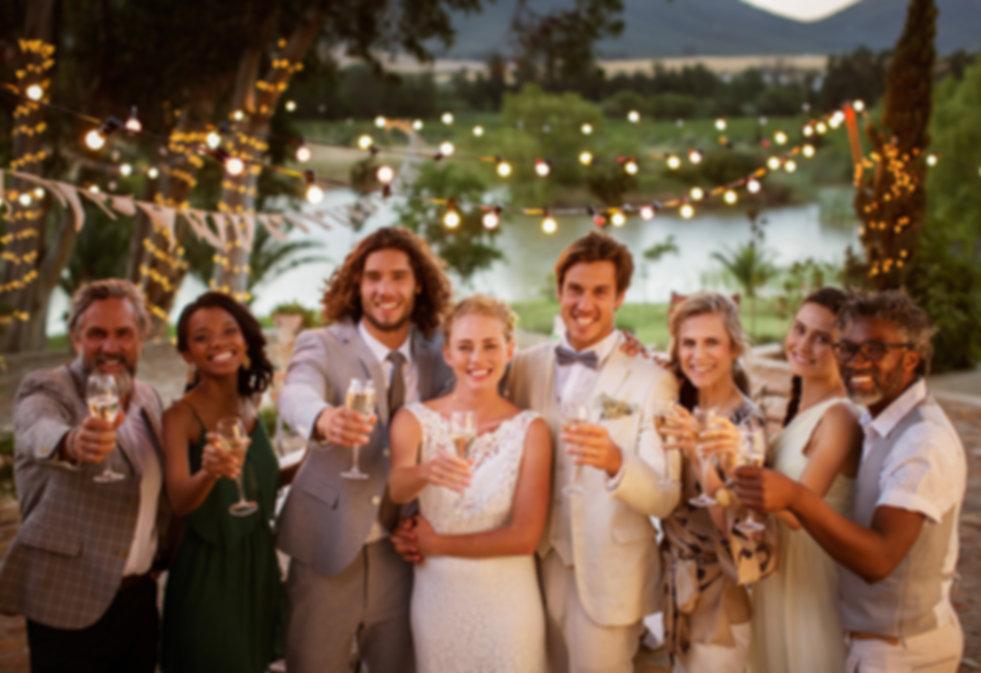 Fotos família do casamento