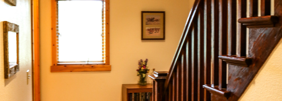 staircase to the upstairs