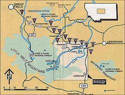 Auto Tour Map