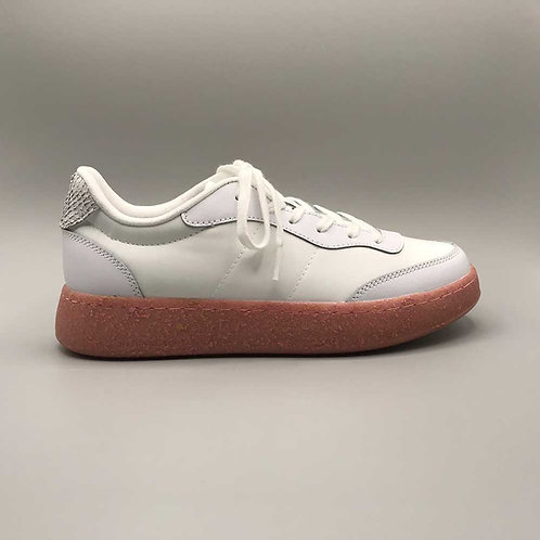 Woden – Sneaker May2, white-soft pink
