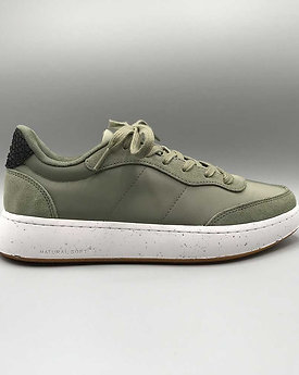 Woden – Sneaker May, dusty olive