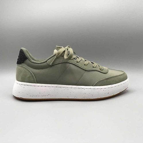 Woden – Sneaker May, dusty olive