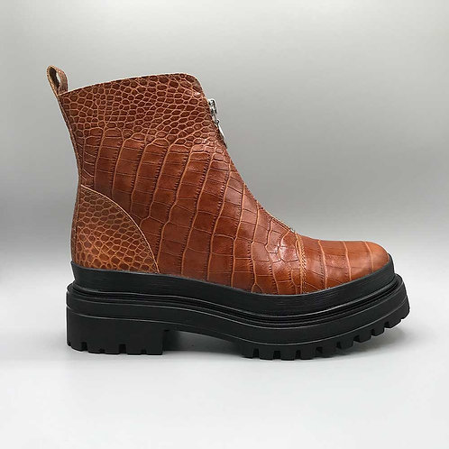 KMB – Boots A3907, caiman cuoio