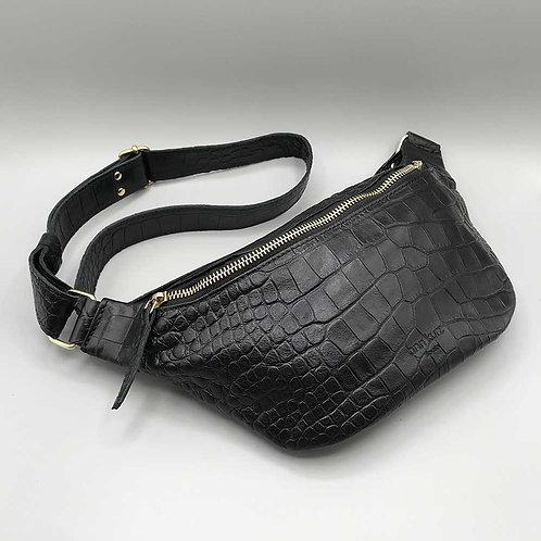 ann kurz – Tasche Fanny, croco black