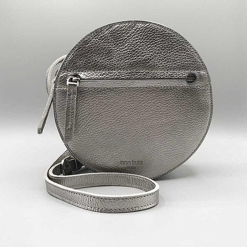 ann kurz – Tasche Lia, metal silver