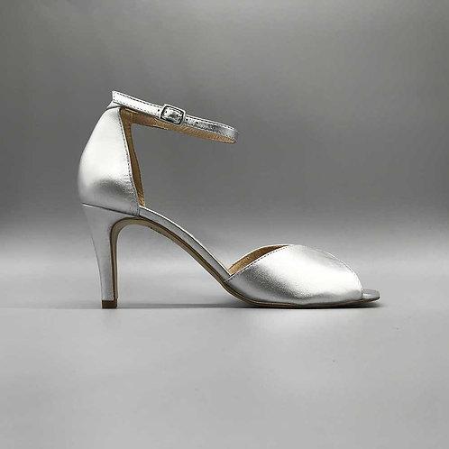 KMB – Sandalette X684, silber