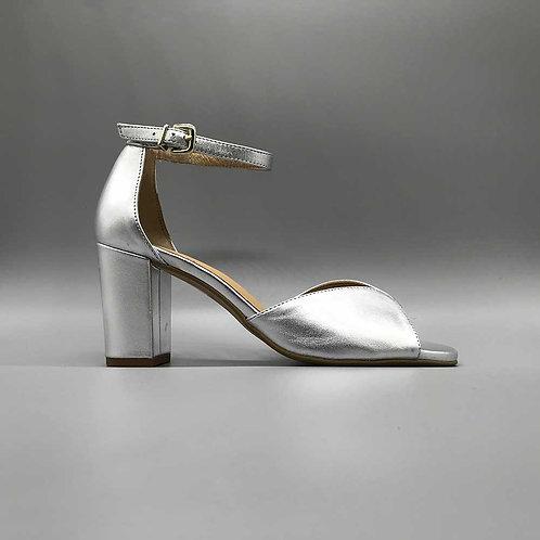 KMB – Sandalette X85, silber